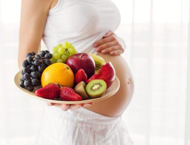 L'importance de manger des fruits durant la grossesse